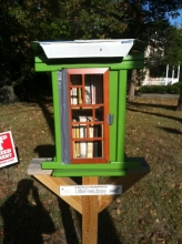 Little Free Library on Piney Branch Road in Takoma