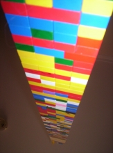 Image of a Lego tower