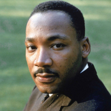 Dr. Martin Luther King Jr. image.