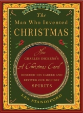 Man Who Invented Christmas cover