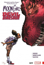 Cover for Moon Girl and Devil Dinosaur, Volume 1