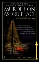 Murder on Astor Place book cover
