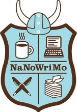 NaNoWriMo Shield.