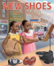 'New Shoes' book cover