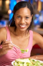 Woman Eating