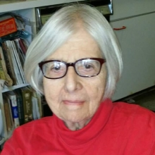 Edna Small - Local poet and author of recent collection of poems - Listening Still