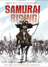 Samurai Rising by Pamela Turner and Gareth Hinds