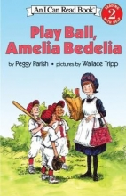 """Play Ball, Amelia Bedelia"" Book Cover"