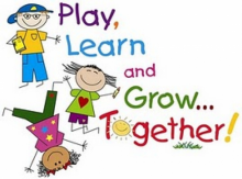 Play, Learn, and Grow Clip Art