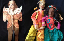 Shakespeare for the Young puppets