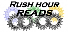 Rush Hour Reads logo.