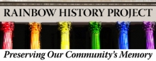 Rainbow History Project logo