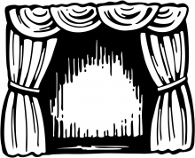 Readers' Theatre Clipart
