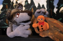 Big Bad Wolf and Cookie Puppets