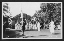 Red Cross Parade, May 18, 1918 - DC Public Library Special Collections, Willard R. Ross Postcard Collection