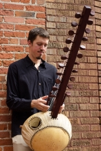 Sean Gaskell plays the West African Kora