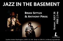 Settles Pirog Jazz in the Basement