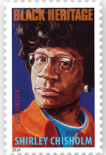 Shirley Chisholm postage stamp.