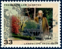 Commemorative U.S. postage stamp issued in 1999.
