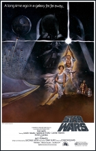 Original Star Wars movie poster.