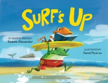 Book Cover of Surf's Up