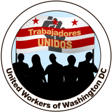 Logo for Trabajadores Unidos de Washington D.C.