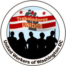 Logo of organization Trabajadores Unidos de Washington DC