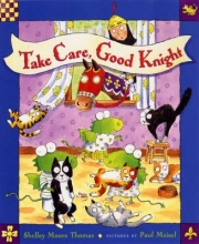 """Take Care, Good Knight"" book cover"