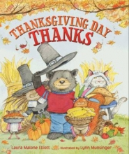 'Thanksgiving Day Thanks' Book Cover