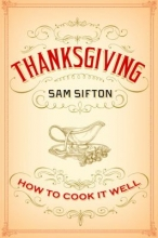 Thankgiving by Sam Sifton cover
