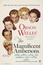 The Magnificent Ambersons movie poster.