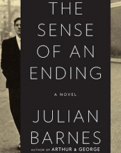 "Book cover for Julian Barnes's ""Sense of an Ending"""
