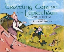 """Traveling Tom and the Leprechaun"" book cover"