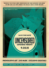 save the date Uncensored