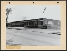 Benning Neighborhood Library before its renovation - DC Public Library Archives, Special Collections