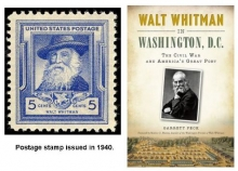 Walt Whitman Stamp and Book