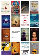 Book covers for Adult Services December staff picks.