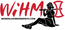 Women in Horror Month logo
