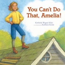 """You Can't Do That Amelia"" book cover"