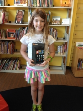 Zora, our 6 - 12 year olds winner