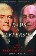 Adams Vs. Jefferson cover