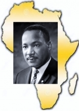 Dr King and Africa