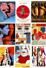 Image of Pedro Almodovar movie posters
