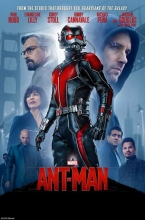 Ant-Man film poster, showing the main characters