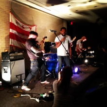 Joy Buttons perform at the DC Punk Archive Library Basement Show