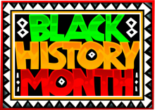 "Image of the words ""Black History Month"""