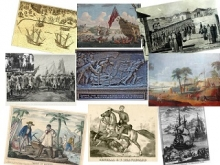 Historical illustrations of the French in America