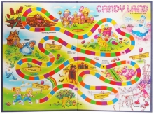 photo of Candyland board