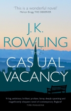 The Casual Vacancy book cover.