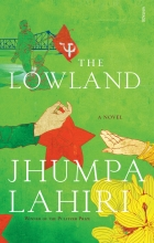 The Lowland book cover.